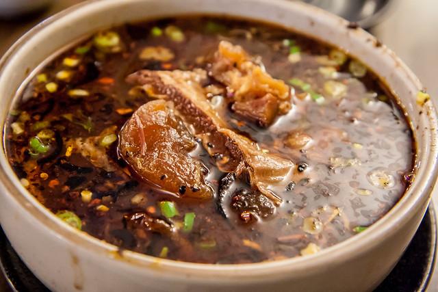 Beef brisket ramen, Noodle Village