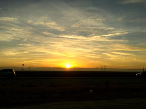 road trip sunset sky window clouds speed project aj drive three photo highway i5 year 365 iphone photoproject 5s brustein 366 threesixfive threesixsix