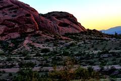 Papago foothills