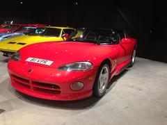 hennessey viper venom 1000 twin turbo(0.0), race car(1.0), automobile(1.0), automotive exterior(1.0), wheel(1.0), vehicle(1.0), automotive design(1.0), chrysler viper gts-r(1.0), bumper(1.0), land vehicle(1.0), muscle car(1.0), srt viper(1.0), sports car(1.0),