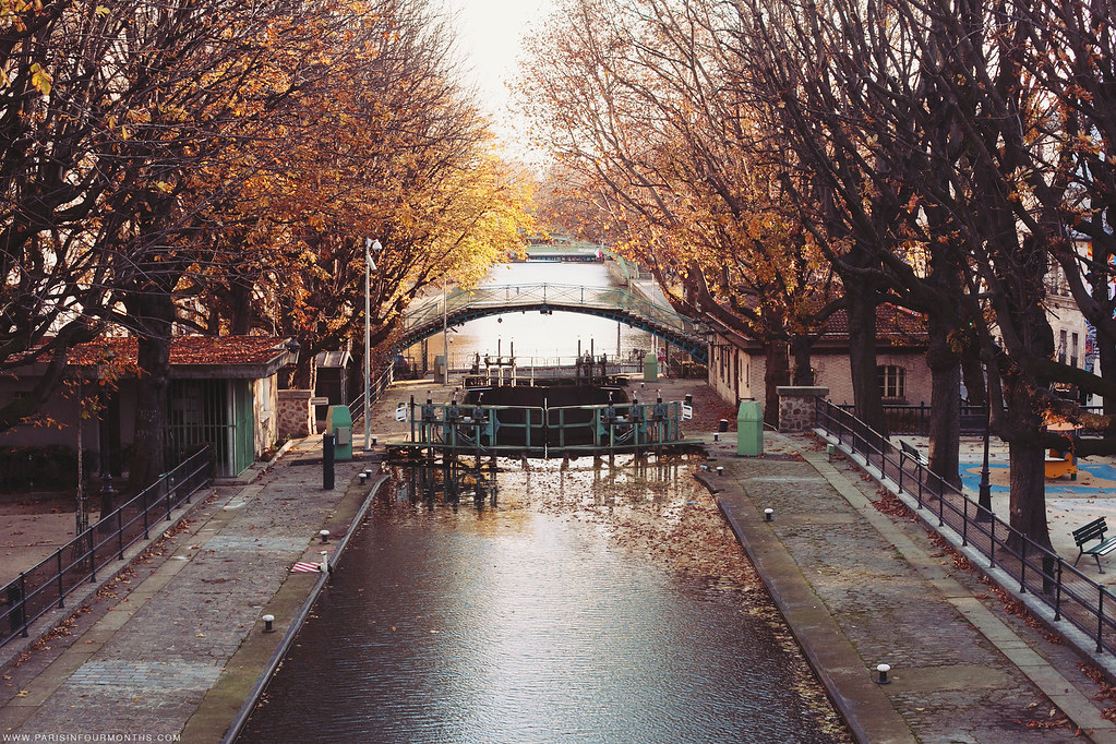 Canal St Martin, photo by Carin Olsson of Paris in Four Months