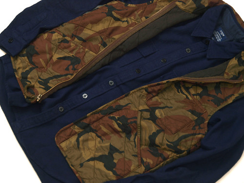 J.Crew / Broadmoor Quilted Vest in Camo