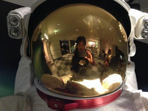 宇宙から見たオーロラ展 2014