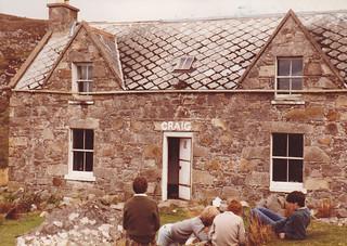 Craig Youth Hostel, nr Torridon, May 1984