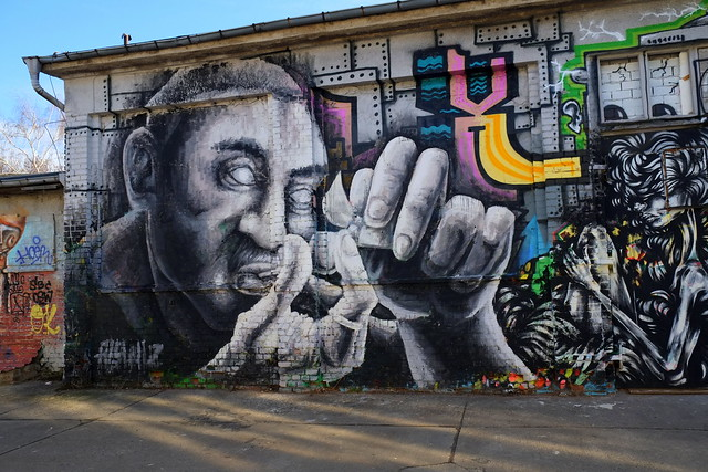 streetart | alaniz | berlin . raw . friedrichshain