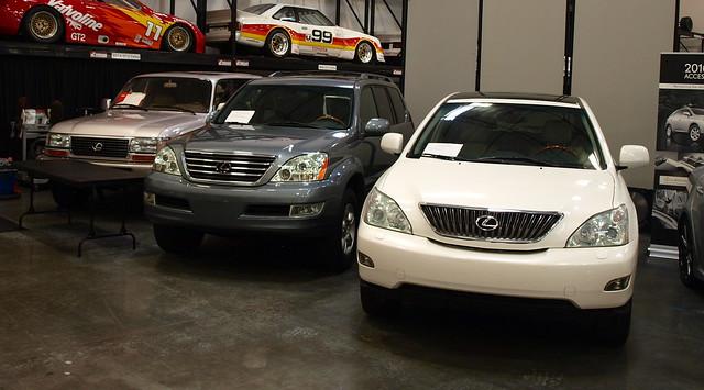 The History of Lexus SUV/CUVs