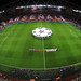 Arsenal and Bayern Munich line up before the match by Stuart MacFarlane