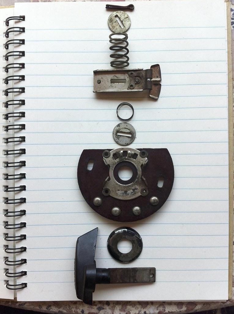 Despiece Interruptor Faro de la montesa impala, con todos sus componentes