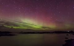 Northern Lights Sea