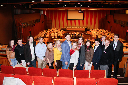 Dean's Business Scholars Visit United Nations Headquarters