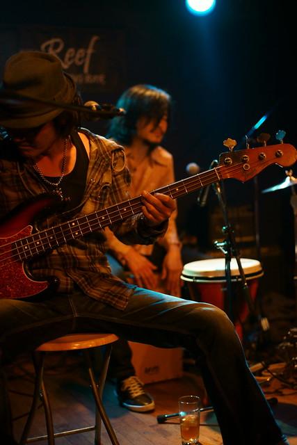 ROSE HIP GARDEN live at Reef, Tokyo, 20 Mar 2014. 096