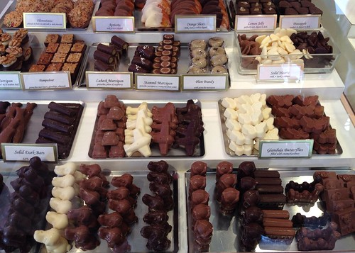 Teuscher Chocolates on the Chocolate Tour of Beverly Hills