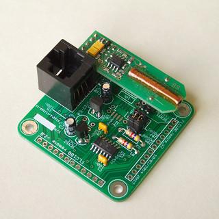 Fluxgate magnetometer sensor PCB