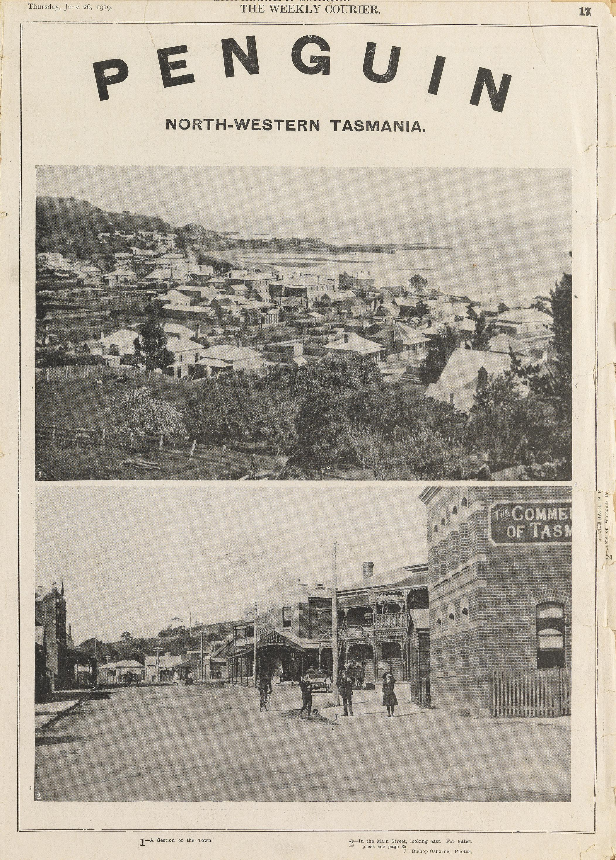 Penguin, Tasmania (1919)