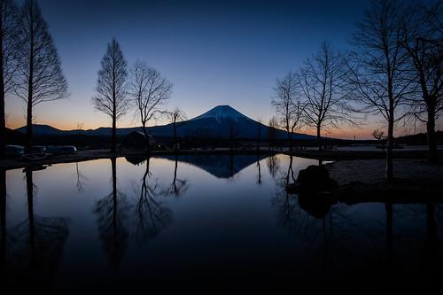 morning camping japan night sunrise volcano pond clear fujisan shizuoka mtfuji yamanashi fujinomiya motosu fujikawaguchiko motosuko motosulake fumotopara
