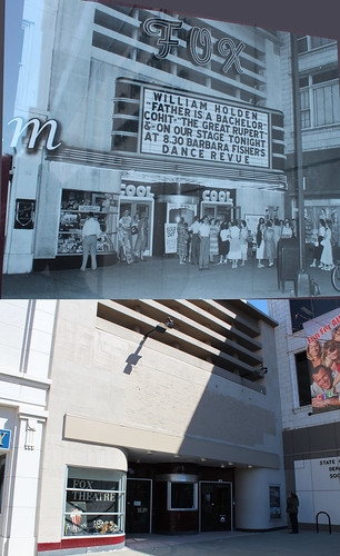 cinema theater theatre missouri fox springfield thennow parkcentralsquare