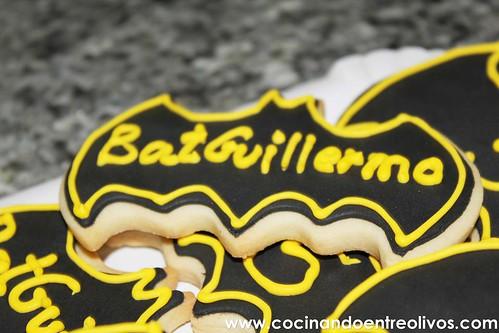 Galletas de Batman www.cocinandoentreolivos.com
