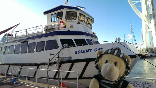 Phil and the Solent Cat
