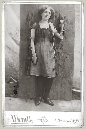 Cabinet Card girl