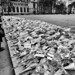 People lay flowers after the Westminster attack by MKHardyPhotography
