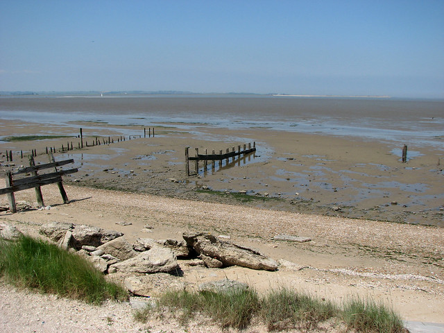The Saxon Shore Way west of Seasalter