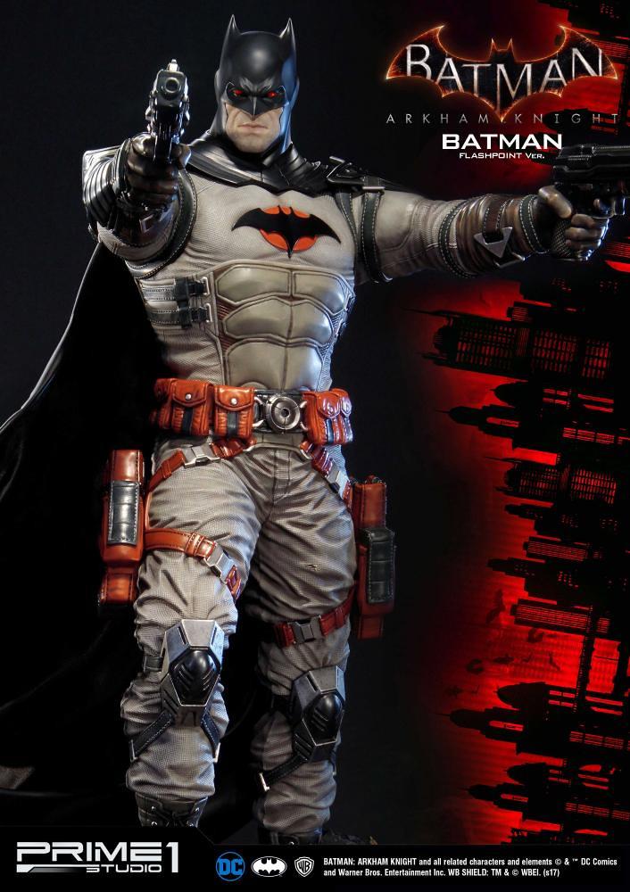 Prime 1 Studio 蝙蝠俠:阿卡漢騎士【蝙蝠俠 閃點版本】Batman Flashpoint ver. 1/3 比例全身雕像作品 MMDC-20EX