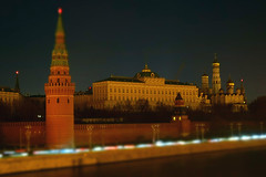 Earth Hour in Moscow's Kremlin