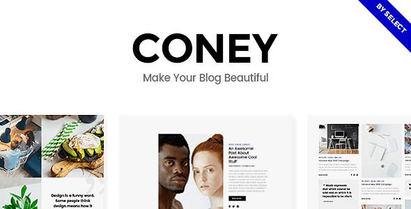 Coney WordPress Theme free download