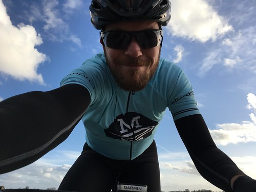 Chilly after work ride April 5 2017