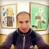 entre Miró y Picasso casual...