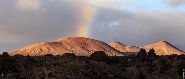 Llueve tras el volcán