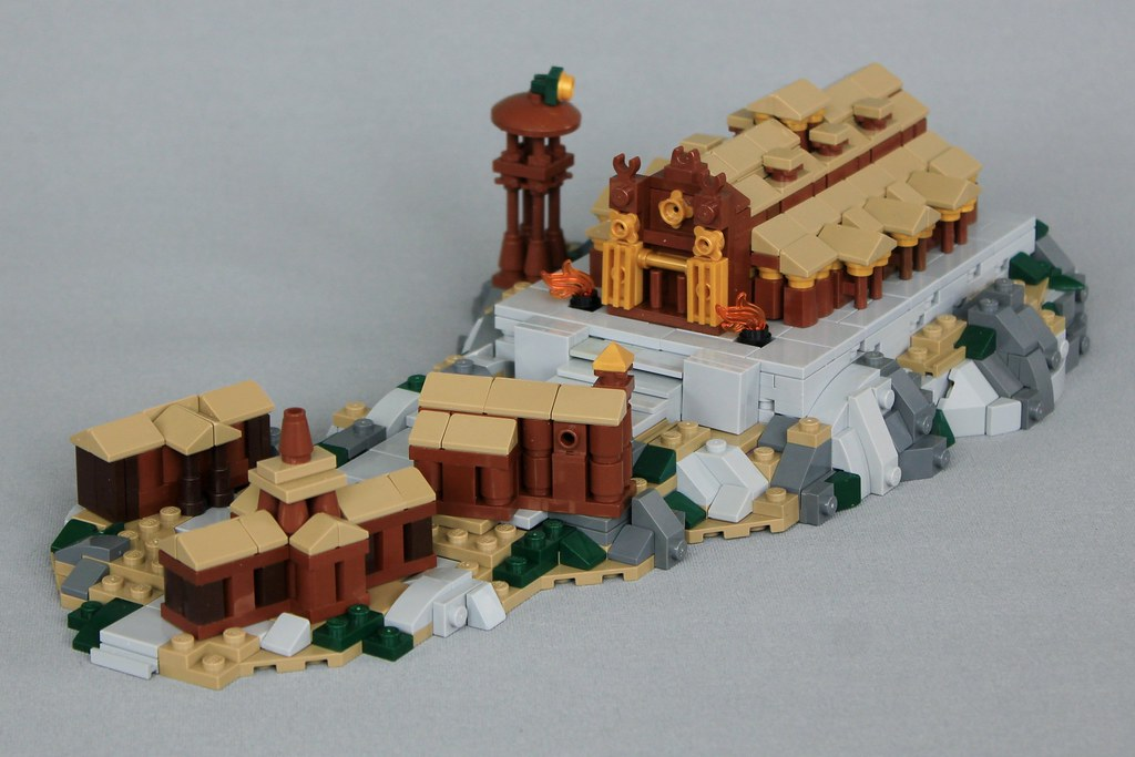 Edoras – MELO (custom built Lego model)