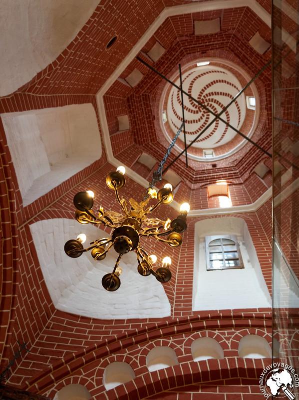 Un des clochers de la cathédrale Basile le Bienheureux