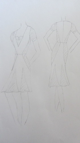My first ever dress design