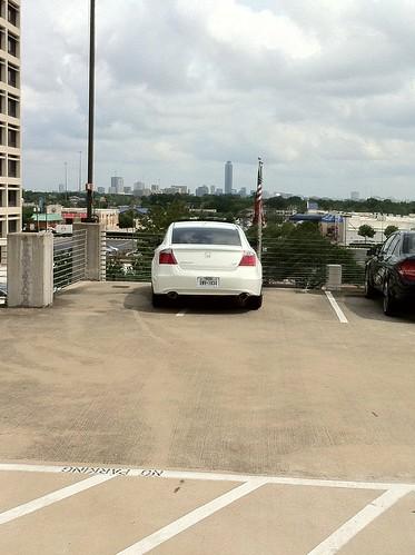 You park like a...
