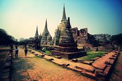 古寺,漫步 ~大城 , 帕席桑碧寺  Ayutthaya, Wat Phra Si Sanphet~