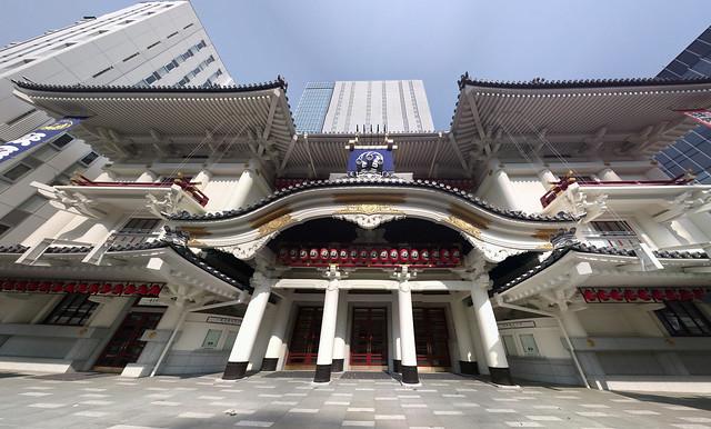 新歌舞伎座正面