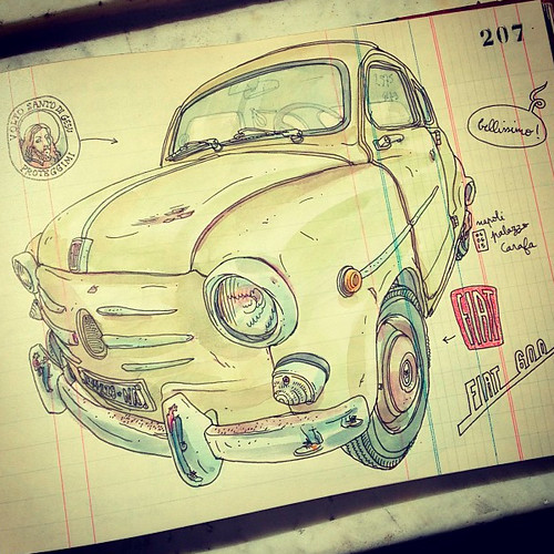 fiat 600 by lapin barcelona