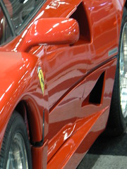 ferrari 458(0.0), bumper(0.0), automobile(1.0), automotive exterior(1.0), wheel(1.0), vehicle(1.0), red(1.0), automotive design(1.0), ferrari f40(1.0), land vehicle(1.0), luxury vehicle(1.0), sports car(1.0),