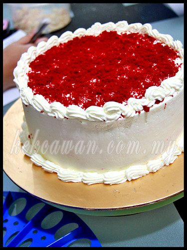 Bake & Deco Classes: Red Velvet Cake ~ 4 October 2012