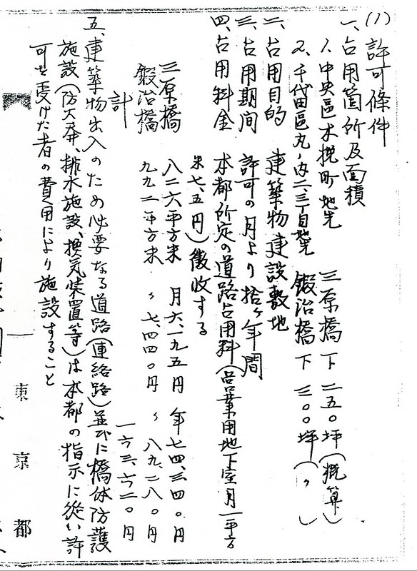 三原橋地下街経緯公文書020