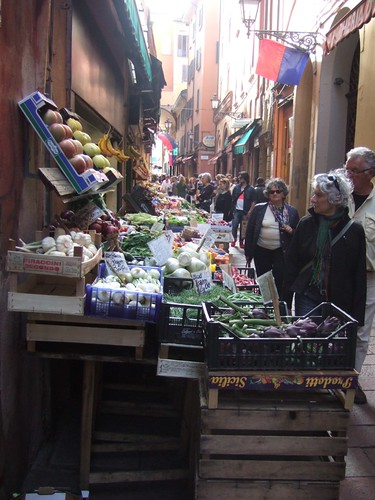 Food markets, Bologna