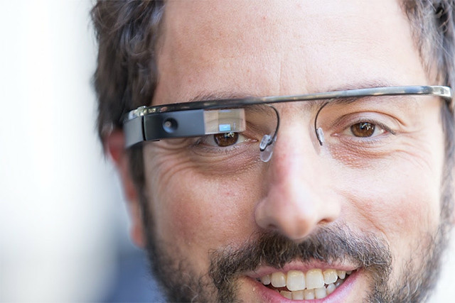 Google glass front