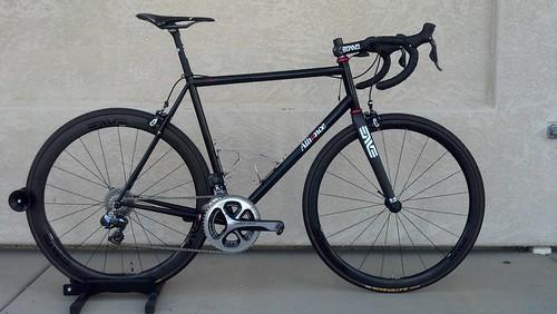 Brent's bike with Enve 3.4 wheels
