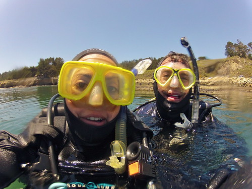 SCUBA Diving Point Lobos State Natural Reserve