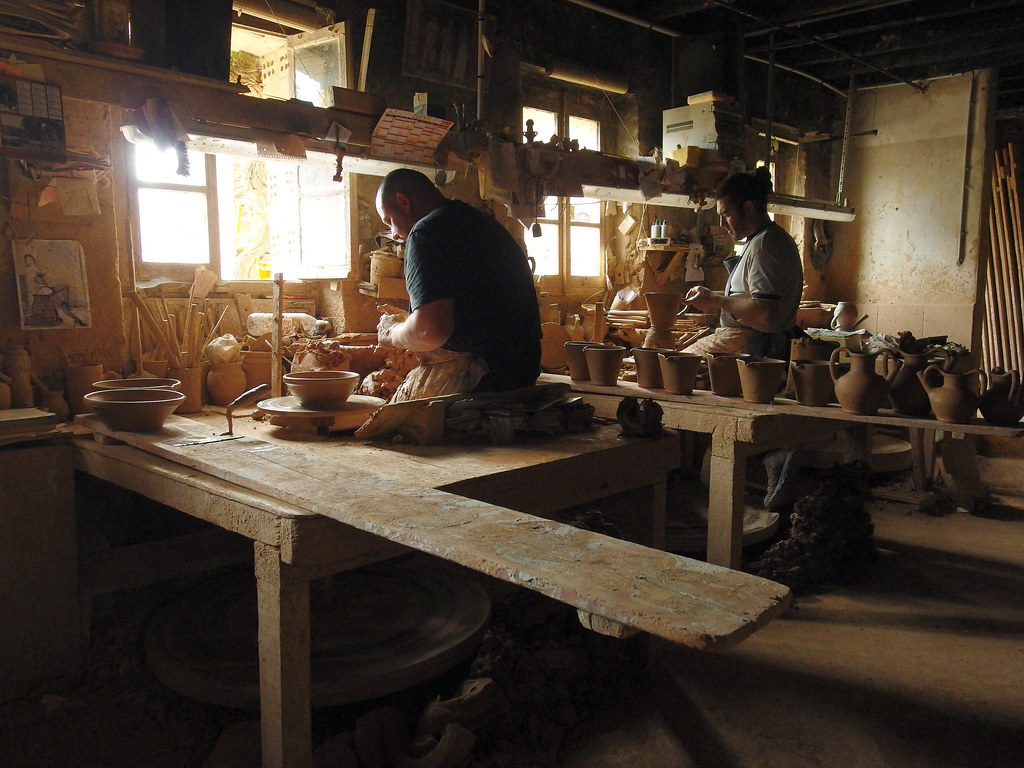Potters At The Not Pottery Plant