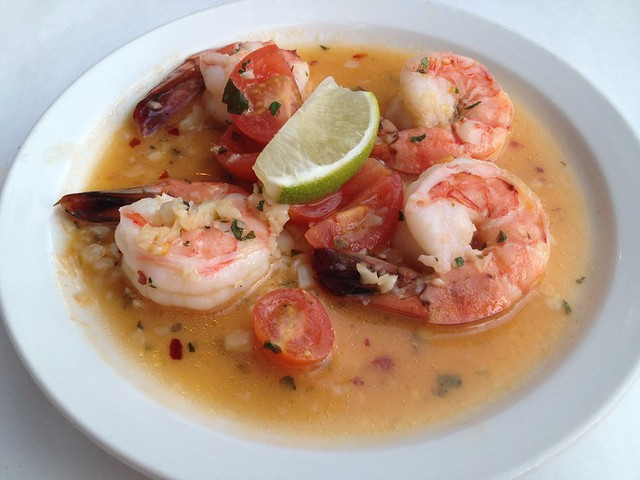 Sauteed spicy lime-drizzled shrimp - Alicante