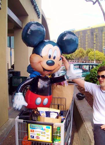 Mickey Mouse Balloon by karaokegal