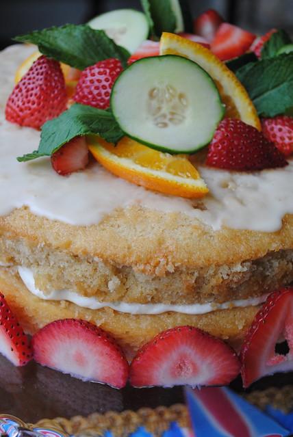 pimm's cake
