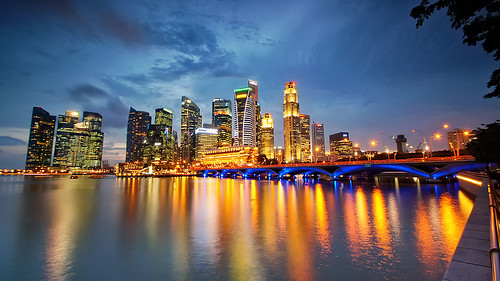 Central Business District Singapore by Haryadi Be